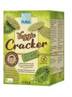 Veggie Cracker Grünkohl-Meersalz - glutenfrei