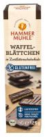 Bio Waffelblättchen Zartbitter - glutenfrei