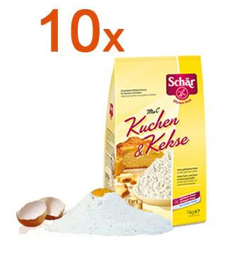 Sparpaket 10 x Mix C Kuchen & Kekse