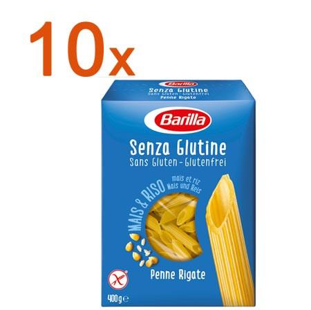 Sparpaket 10 x Penne Rigate glutenfrei