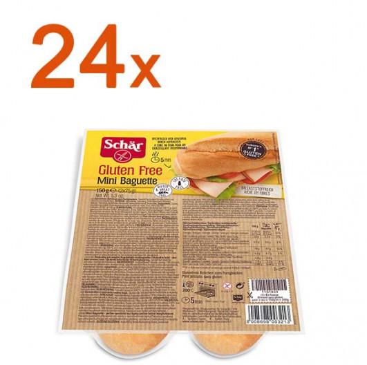 Sparpaket 24 x Mini Baguette Duo