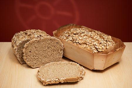 Bio Hafer-Brot frisch gebacken