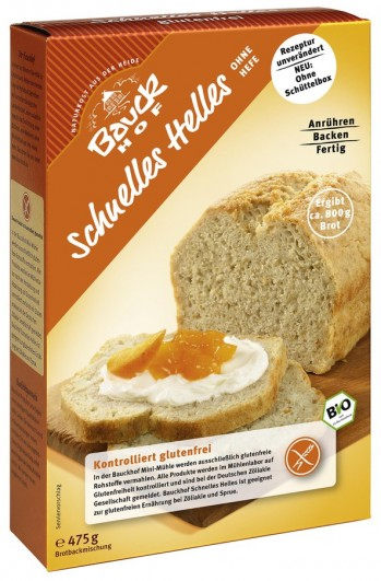 Schnelles Helles Brot
