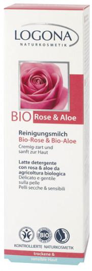 Reinigungsmilch Bio-Rose & Bio-Aloe