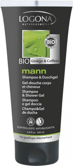 LOGONA mann Shampoo & Duschgel
