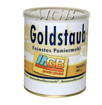 Goldstaub Feinstes Paniermehl
