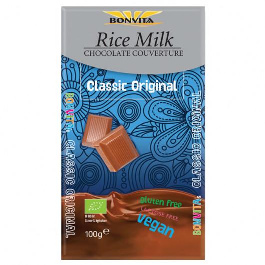 Reismilchschokolade Kuvertüre laktosefrei