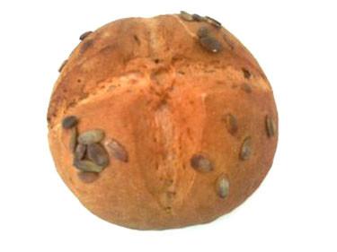 Kürbiskernbrot frisch gebacken