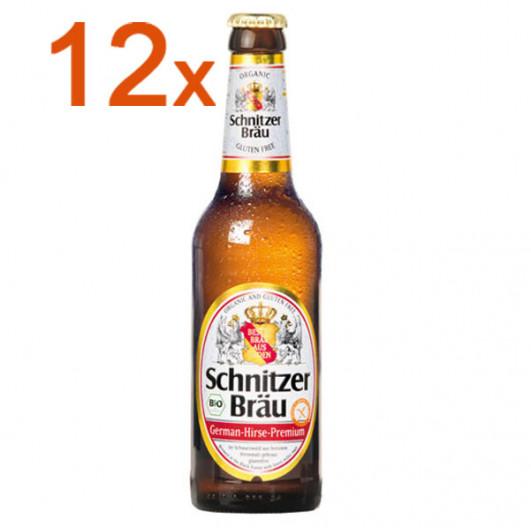 Schnitzer Bräu Bier 12 FL.