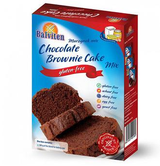 Schoko-Brownie Kuchen Backmischung