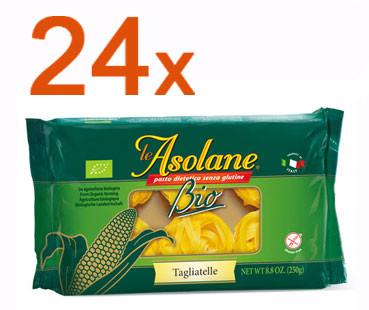 Sparpaket 24 x Le Asolane Tagliatelle Bio