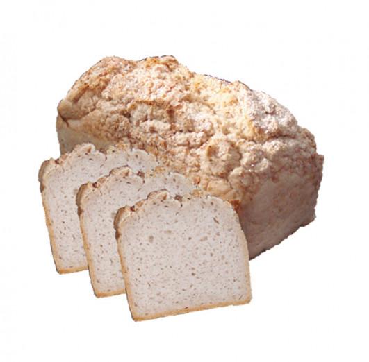 Buchweizenbrot ohne Hefe frisch gebacken