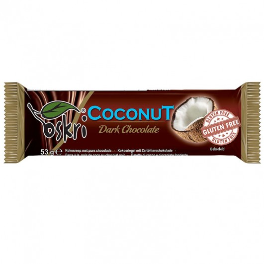 Kokosriegel mit Zartbitterschokolade