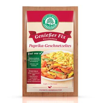 Genießer Fix Paprika-Geschnetzeltes