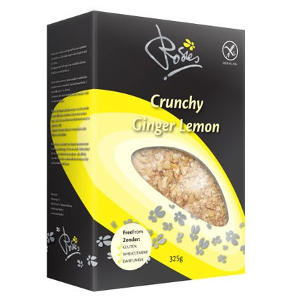Ingwer Zitrone Crunchy Müsli