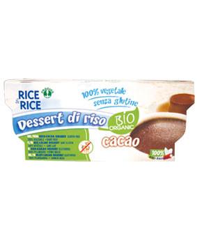 Reisdessert mit Cacao