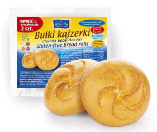Glutenfreie Kaiserbrötchen