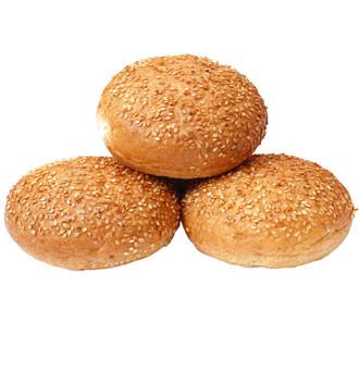 Glutenfreie Hamburger Brötchen