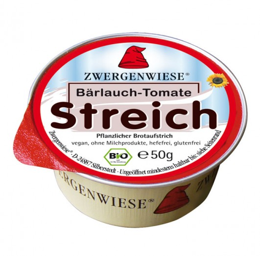 Kleiner Streich Bärlauch-Tomate