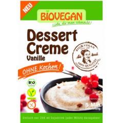Vanille Dessertcreme ohne Kochen