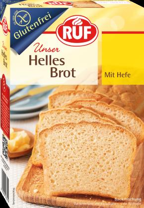 Helles Brot Backmischung