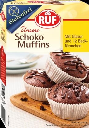 Schoko Muffins Backmischung