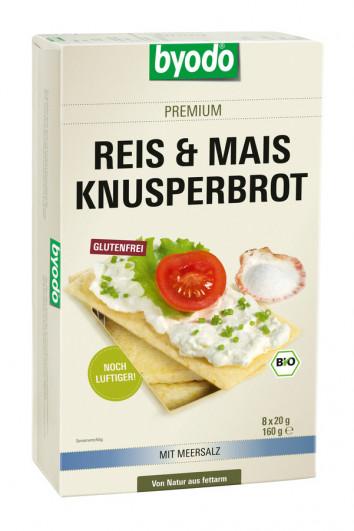 Reis & Mais Knusperbrot mit Meersalz