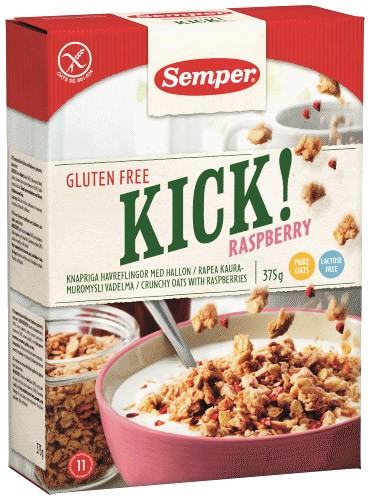 Kick! Raspberry Knusperflocken