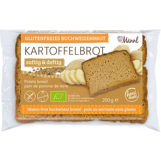 Bio Kartoffelbrot