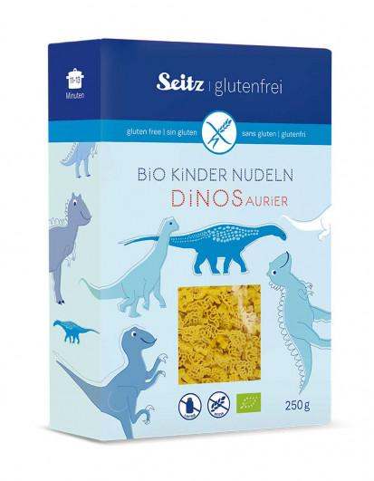 Bio-Kindernudeln Dinosaurier