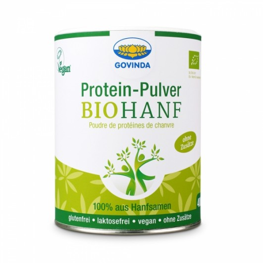 Protein-Pulver Bio Hanf