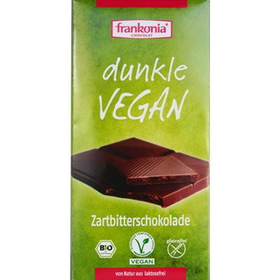 Zartbitterschokolade Dunkle Vegan