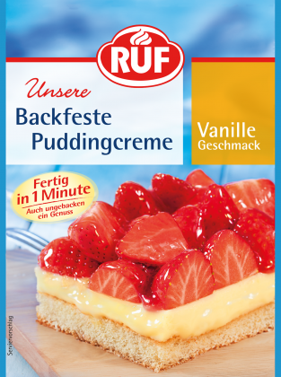Backfeste Puddingcreme Vanille