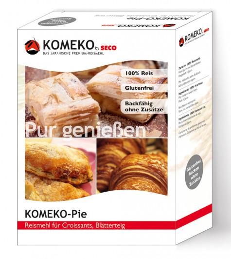 Pie Reismehl für Croissants und Blätterteig