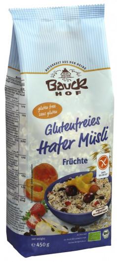 Glutenfreies Hafermüsli Früchte