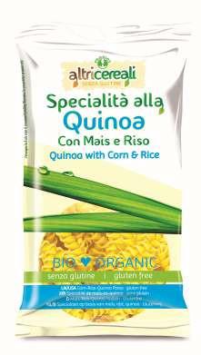 Mais-Reis-Quinoa Nudeln Fusilli