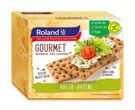 Glutenfreies Knäckebrot Gourmet mit Hafer