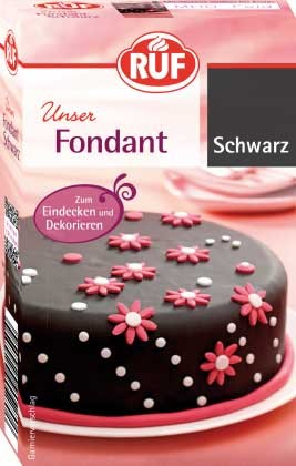 Fondant Schwarz