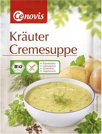 Kräuter Cremesuppe