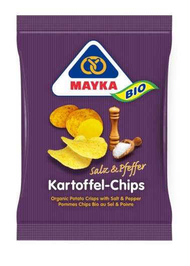 Bio Kartoffel-Chips Salz & Pfeffer