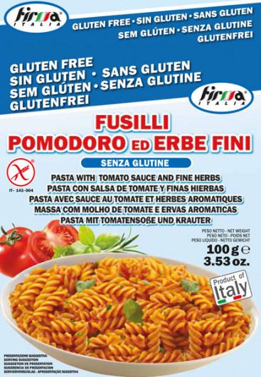 Fertiggericht Fusilli Pomodoro