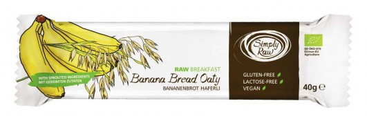 Riegel Bananenbrot Haferli