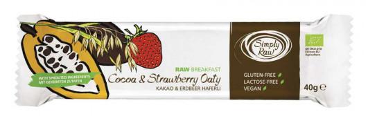 Riegel Kakao Erdbeer Haferli