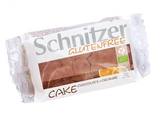 Bio feiner Schokoladen-Orangen-Kuchen