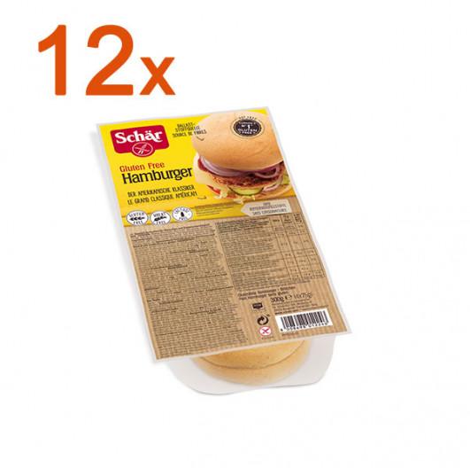 Sparpaket 12 x Hamburger