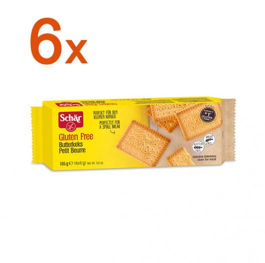 Sparpaket 6 x Butterkeks Petit beurre