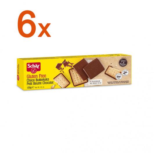 Sparpaket 6 x Choco Butterkeks
