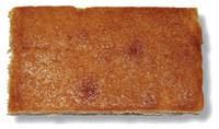 Reis-Kuchenschnitte