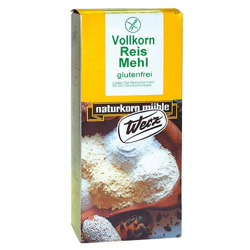 Reis-Vollkorn-Mehl