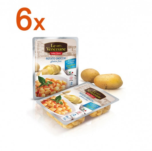 Sparpaket 6 x Le Veneziane Potato Kartoffel Gnocchi